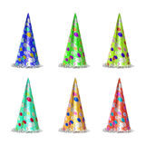 New year celebration Party items. New year hat celebration Party items stock photo