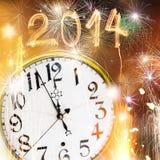 New Year celebration theme Stock Image
