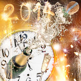 New Year celebration theme Stock Photos