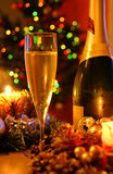 New Year Champagne Royalty Free Stock Image