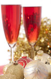 New Year. Champagne Royalty Free Stock Photo