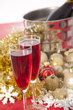 New Year. Champagne Royalty Free Stock Image