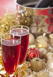 New Year. Champagne Stock Photography