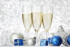 New year Champagne Stock Image