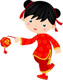 New Year _children,chinese vector illustration