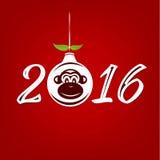 New Year Chinese Monkey. Chinese zodiac Monkey for New Year 2016 Royalty Free Stock Photo