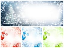 New year and Christmas Stock Photography