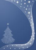 New Year or Christmas background Stock Images