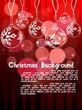 New year & Christmas background. 2011 card beautiful  illustration of Christmas and new year Stock Photos