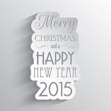 New Year and Christmas background. Abstract background for Christmas and the New Year Royalty Free Stock Photo
