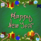 New year or Christmas background. Happy New year background for different decoration purpouses Stock Photography
