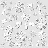 New year and christmas background Royalty Free Stock Images