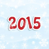 New Year and Christmas  background. New Year and Christmas snow background Stock Photos