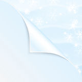 New Year and Christmas background. New Year and Christmas snow background royalty free illustration
