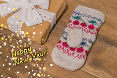 New year and Christmas background Royalty Free Stock Photography