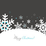 New year and Christmas card Stock Photo
