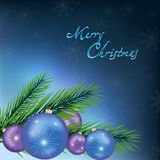 New Year and Christmas card, festive background Royalty Free Stock Photos
