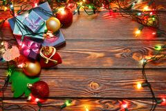 Ready to celebrate Christmas and New Year royalty free stock photo