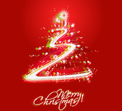 New year and for Christmas colorful design Stock Photography
