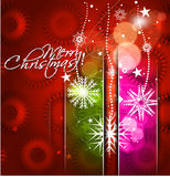 New year and christmas colorful design Royalty Free Stock Images