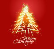 New year and for Christmas colorful design. Abstract red background for new year and for Christmas colorful design for text project used royalty free illustration