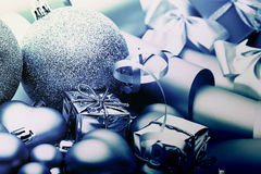 New Year Christmas decor cold Royalty Free Stock Photography