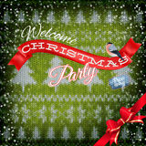 New Year christmas decoration. EPS 10 Stock Photos