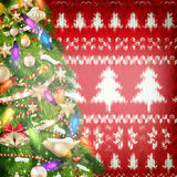 New Year christmas decoration. EPS 10 Royalty Free Stock Images