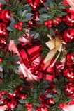 New year, christmas, decoration, garland. New year, decoration, garland, christmas Royalty Free Stock Photography