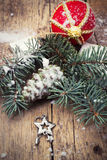 New year. Christmas decoration and toy during winter holidays Stock Image
