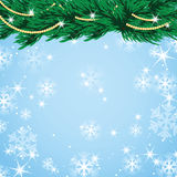 New Year and Christmas design with Christmas tree Stock Photos