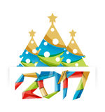 New Year and Christmas holiday elements Royalty Free Stock Photo