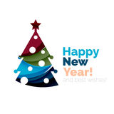New Year and Christmas holiday elements Stock Photos