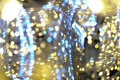 New year Christmas lights Bokeh 2019 z z royalty free stock image
