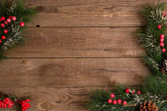 New Year and Christmas mokcup. Stock Images