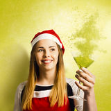 New year christmas party Royalty Free Stock Images