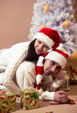 New year and Christmas Royalty Free Stock Photo
