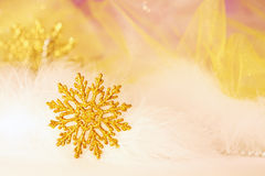 New year or christmas snowflake Royalty Free Stock Photo