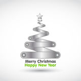 New year christmas tree Stock Images