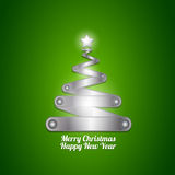 New year christmas tree Stock Photography