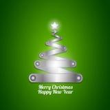 New year christmas tree Stock Photography