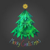 New Year, Christmas trees Royalty Free Stock Photography