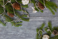 New year or Christmas wallpaper Stock Photo