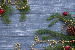 New year or Christmas wallpaper Stock Images