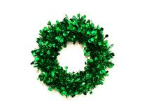 New year and Christmas wreath. royalty free illustration