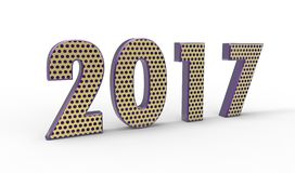 New year 2017 Stock Photos