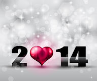 2014 New Year Colorful Background. For your  Party invitations Royalty Free Stock Image
