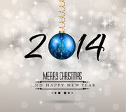 2014 New Year Colorful Background. For your Party invitations vector illustration