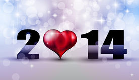 2014 New Year Colorful Background Royalty Free Stock Images