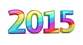 New Year 2015 Stock Photo